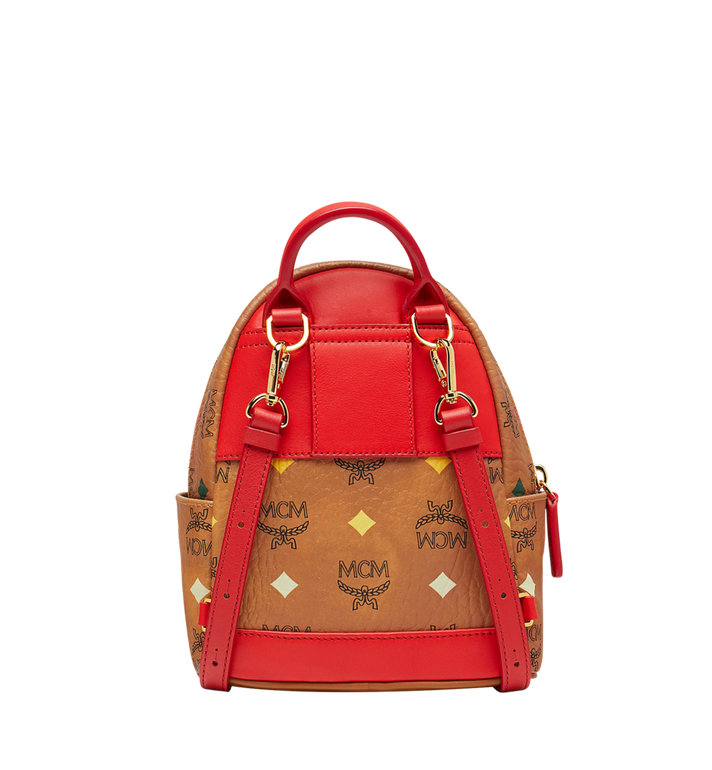 MCM Stark Bebe Boo Backpack in Skyoptic Visetos Alternate View 5