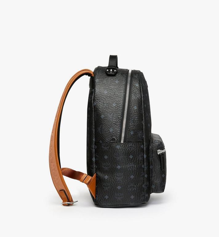 MCM Stark Backpack in Visetos Black MMK9SVE73BK001 Alternate View 2