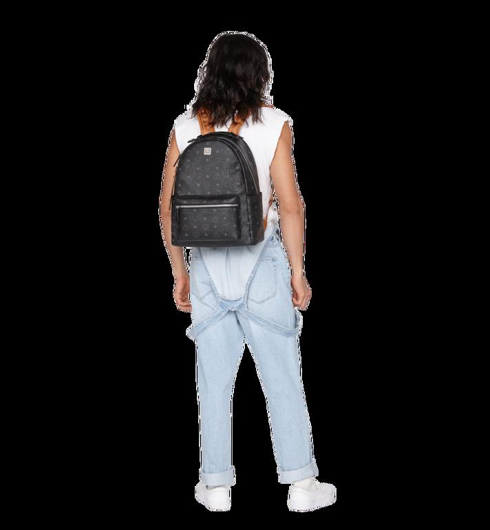 MCM Stark Backpack in Visetos Black MMK9SVE73BK001 Alternate View 6