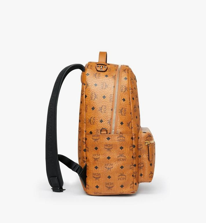 MCM Stark Backpack in Visetos Cognac MMK9SVE73CO001 Alternate View 2