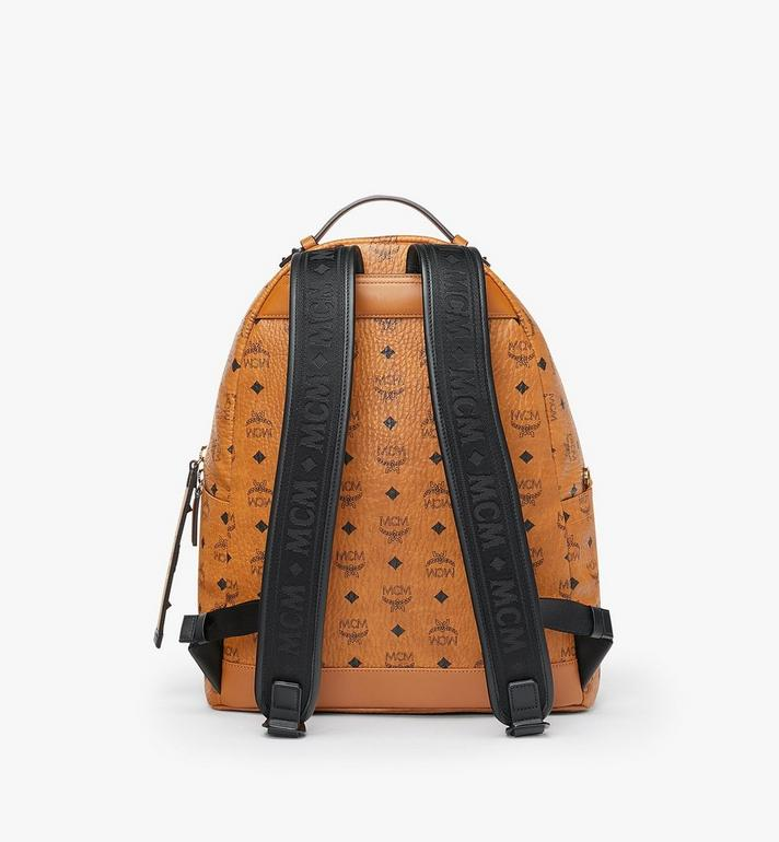 MCM Stark Backpack in Visetos Cognac MMK9SVE73CO001 Alternate View 3