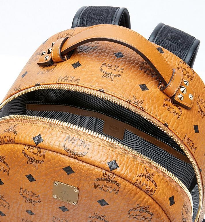 MCM Stark Backpack in Visetos Cognac MMK9SVE73CO001 Alternate View 4