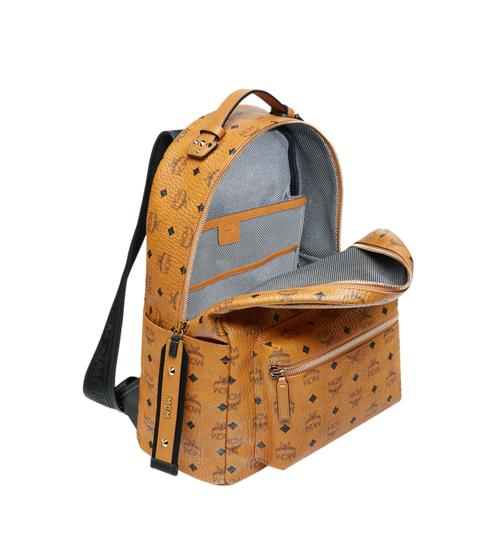 MCM Stark Rucksack in Visetos Cognac MMK9SVE73CO001 Alternate View 5