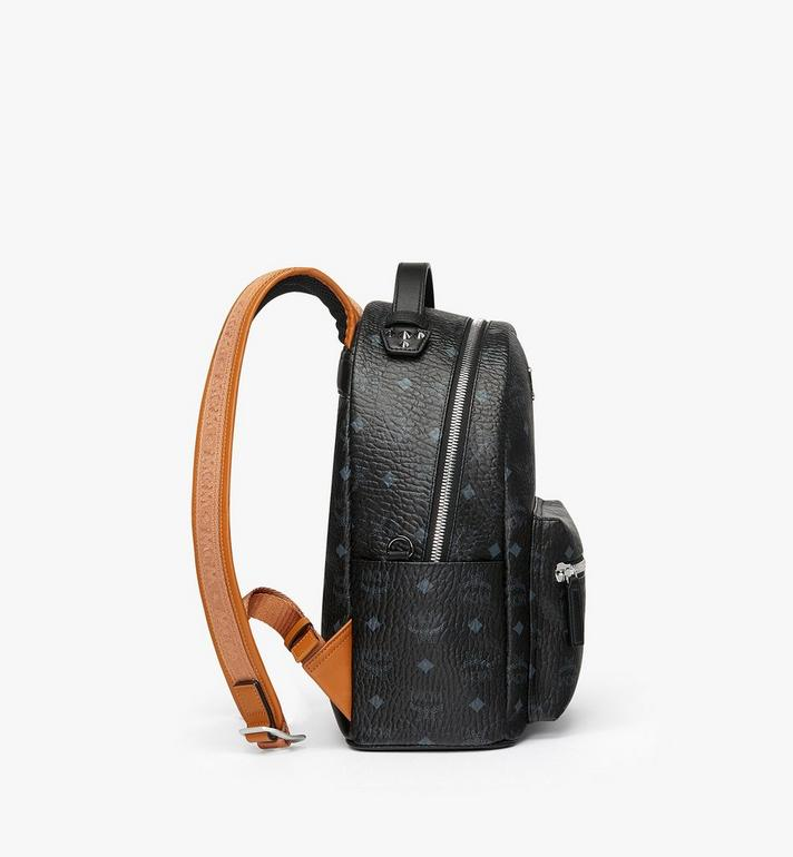 MCM Stark Backpack in Visetos Black MMK9SVE74BK001 Alternate View 2
