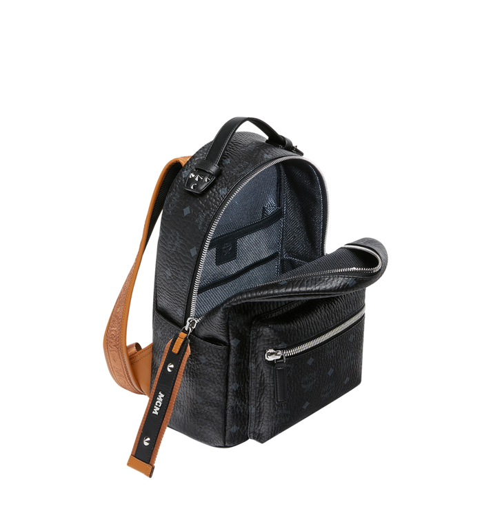 MCM Stark Backpack in Visetos Black MMK9SVE74BK001 Alternate View 5