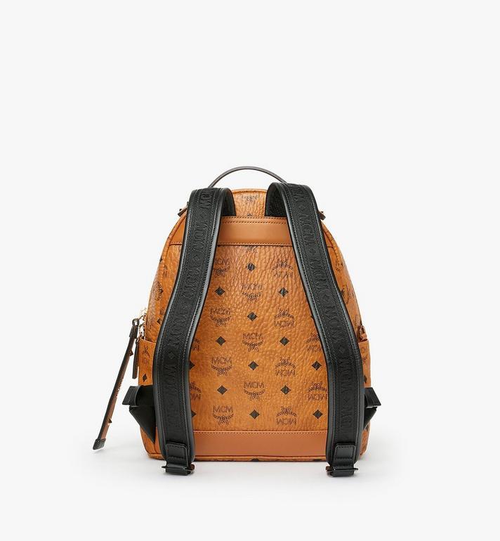 MCM Stark Backpack in Visetos Cognac MMK9SVE74CO001 Alternate View 3