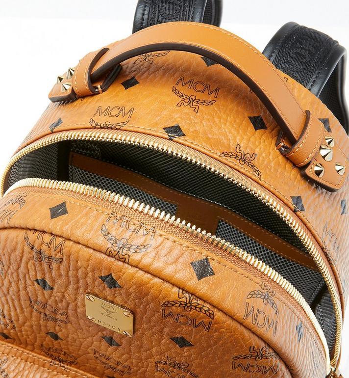 MCM Stark Backpack in Visetos Cognac MMK9SVE74CO001 Alternate View 4