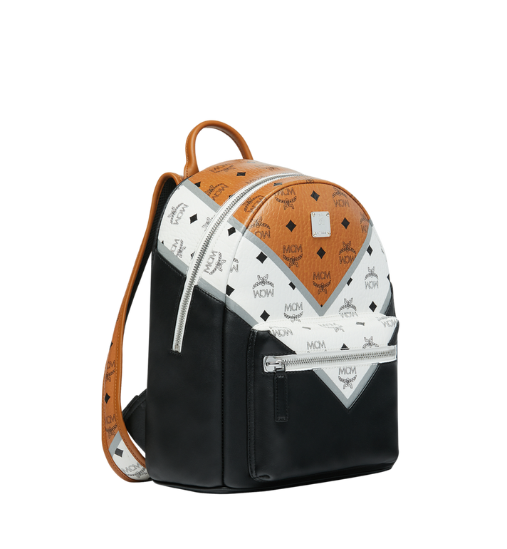 MCM Stark Rucksack in M Move Visetos Alternate View 2