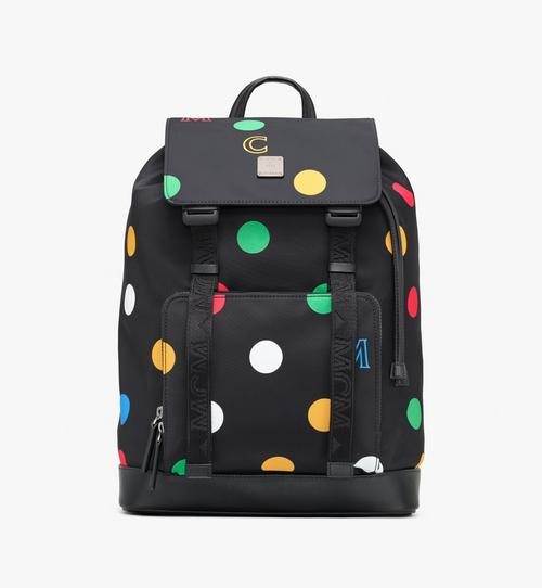 Brandenburg Backpack in Polka Dot Nylon
