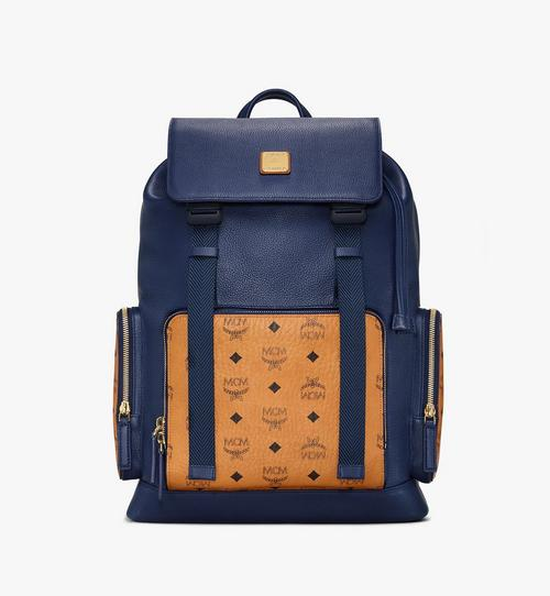 Brandenburg Backpack in Visetos Leather Block