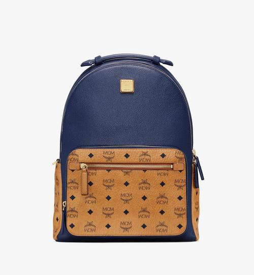 Stark Backpack in Visetos Leather Block