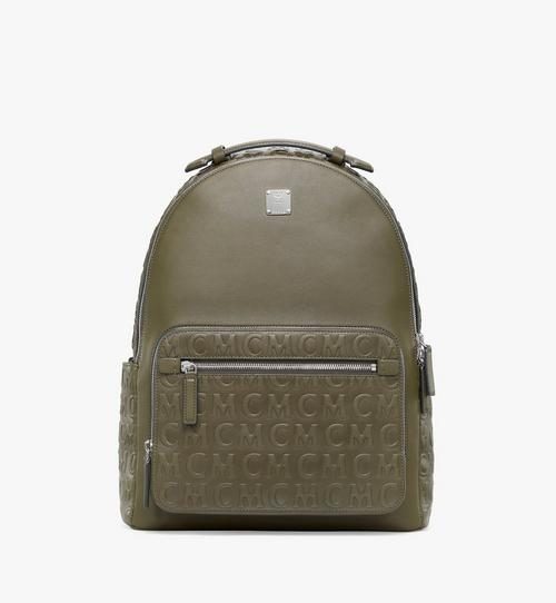 Stark Backpack in MCM Monogram Leather