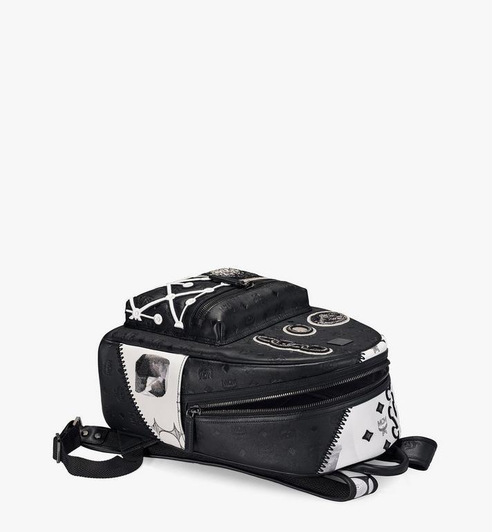MCM Stark Backpack in Wunderkammer Black MMKAAVE30BK001 Alternate View 3