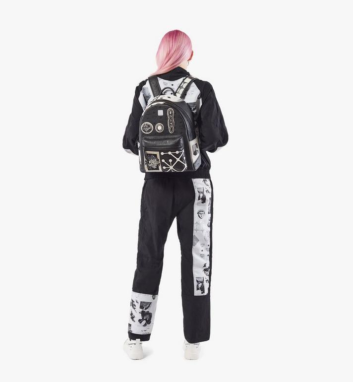 MCM Stark Backpack in Wunderkammer Black MMKAAVE30BK001 Alternate View 5