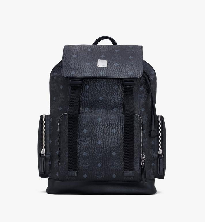MCM Brandenburg Backpack in Visetos Alternate View