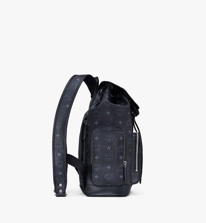 MCM Brandenburg Backpack in Visetos Black MMKASBG05BK001 Alternate View 2