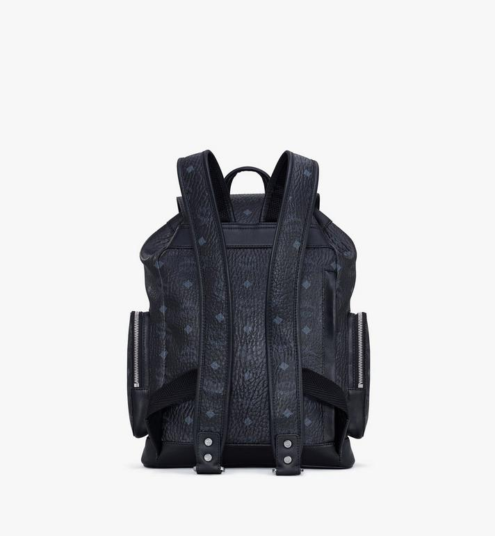 MCM Brandenburg Backpack in Visetos Black MMKASBG05BK001 Alternate View 3