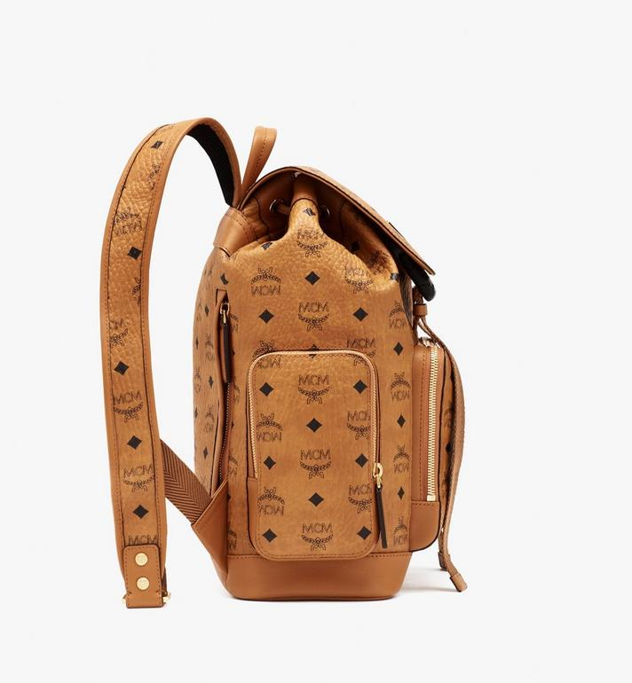 MCM Brandenburg Backpack in Visetos Cognac MMKASBG05CO001 Alternate View 2