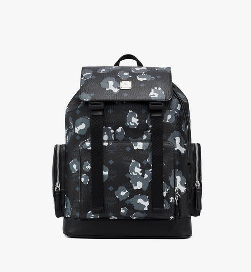 Brandenburg Backpack in Floral Leopard