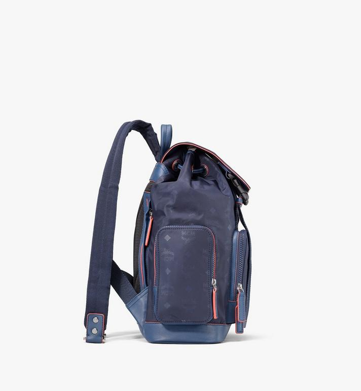MCM Brandenburg Backpack in Monogram Nylon Navy MMKASBG08VA001 Alternate View 2