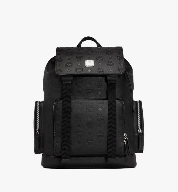 MCM Brandenburg Backpack in Monogram Leather Alternate View