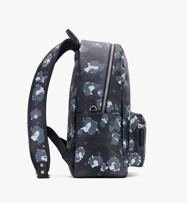MCM Stark Backpack in Floral Leopard Black MMKASVE08B1001 Alternate View 2