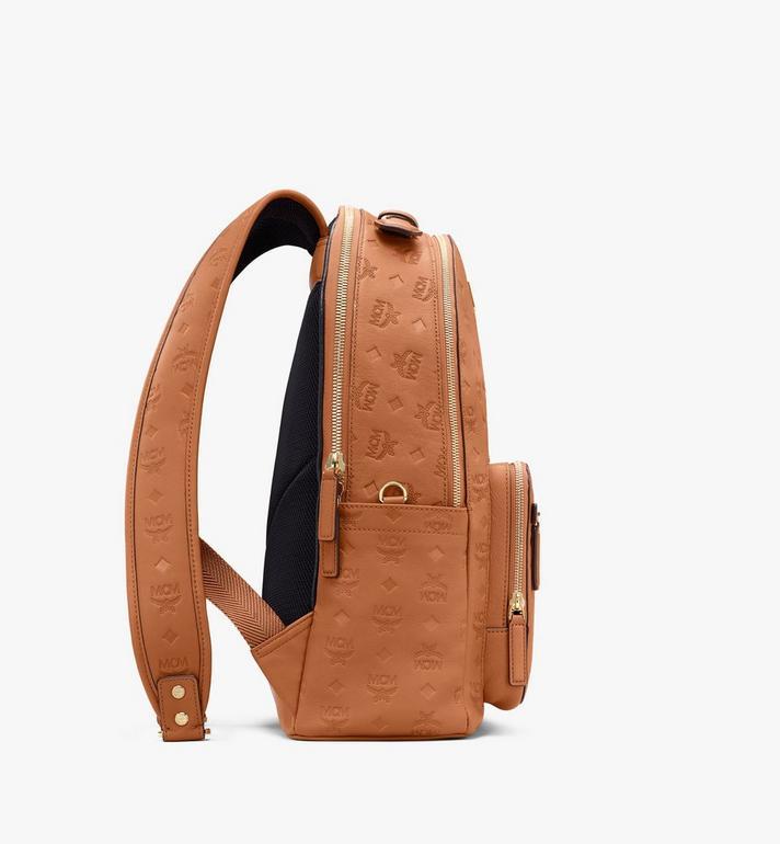 MCM Stark Backpack in Monogram Leather Cognac MMKASVE09CO001 Alternate View 2