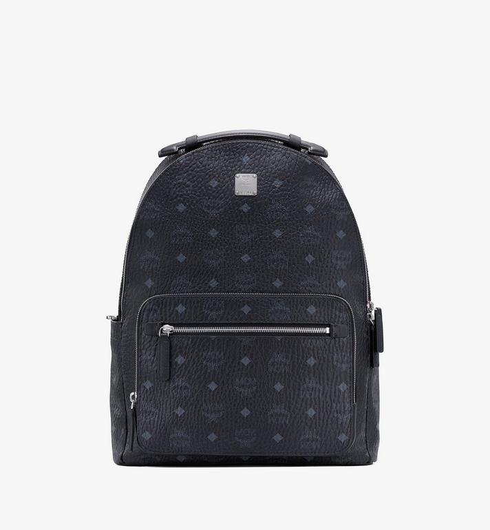 MCM Stark Visetos 双肩背包 Black MMKASVE10BK001 Alternate View 1