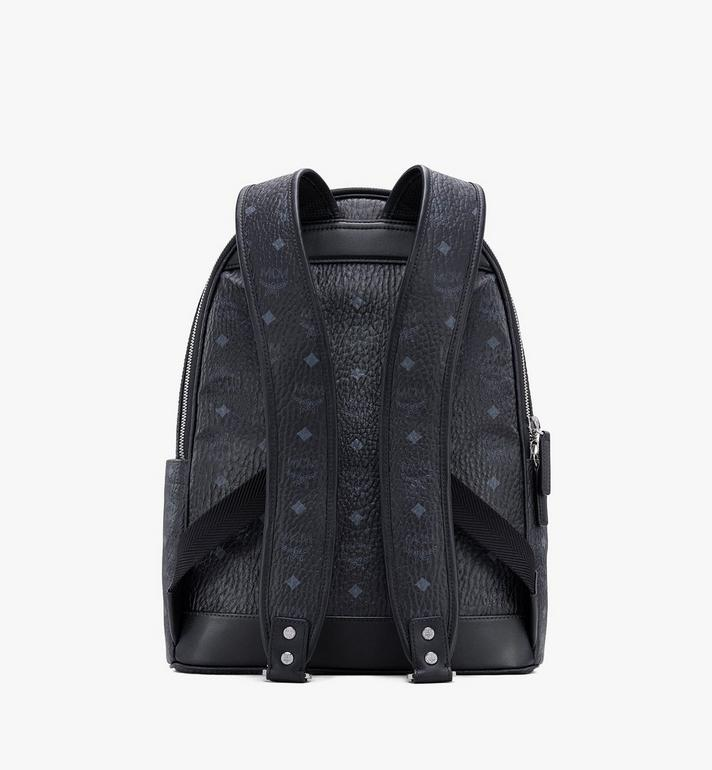 MCM Stark Backpack in Visetos Black MMKASVE10BK001 Alternate View 3