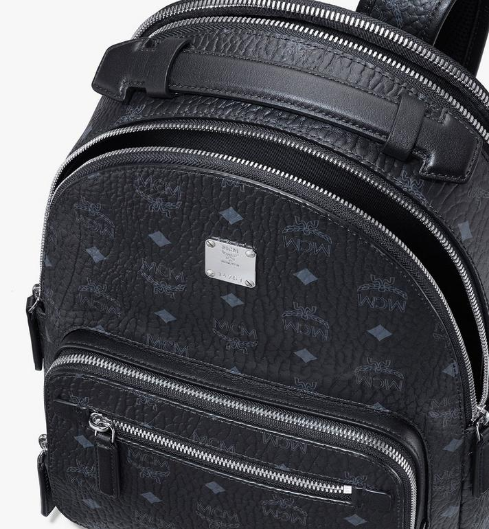 MCM Stark Backpack in Visetos Black MMKASVE10BK001 Alternate View 4