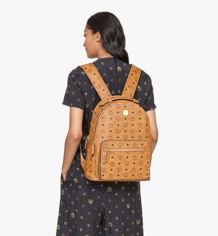 MCM Stark Backpack in Visetos Cognac MMKASVE10CO001 Alternate View 6