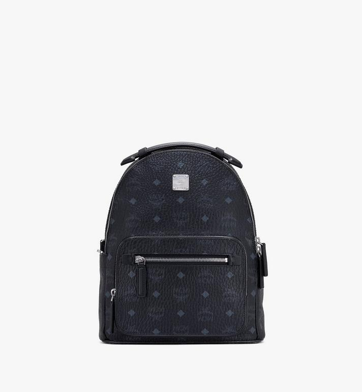 MCM Visetos 系列的 Stark 後背包 Black MMKASVE11BK001 Alternate View 1