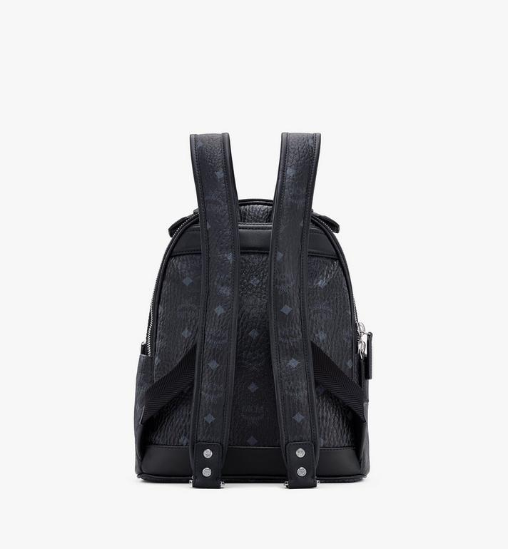 MCM Stark Backpack in Visetos Black MMKASVE11BK001 Alternate View 3
