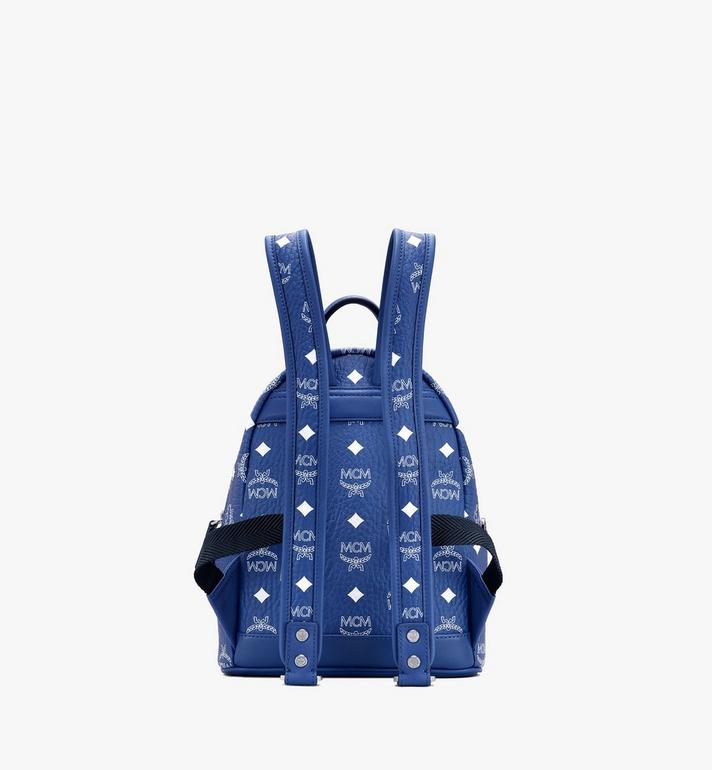 MCM Stark Backpack in Visetos Blue MMKASVE13H1001 Alternate View 3