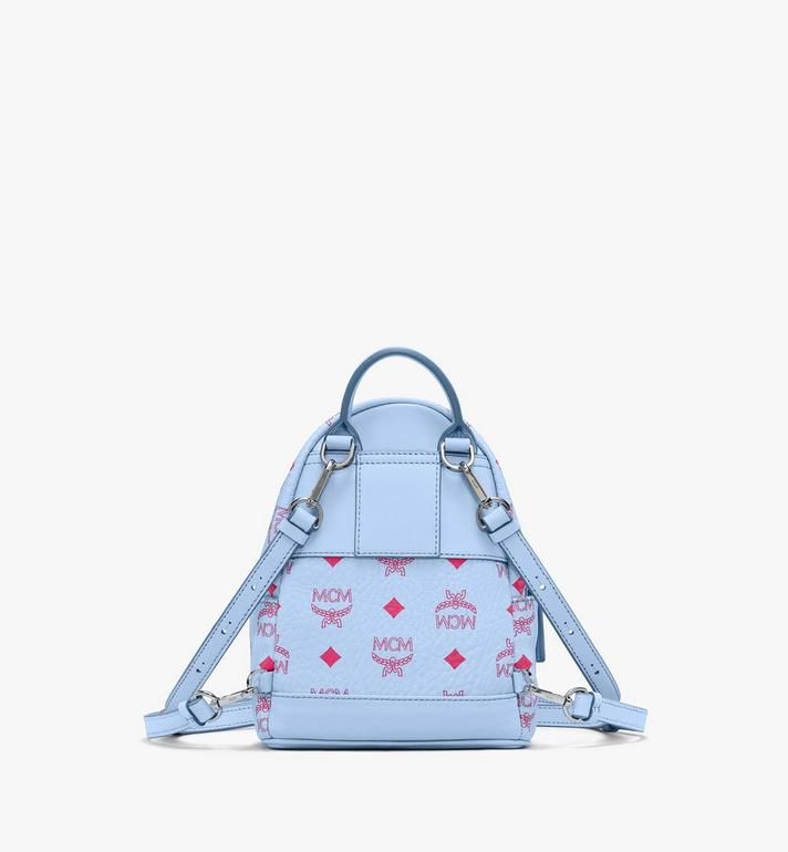 MCM Visetos 系列的 Stark 後背包 Blue MMKASVE14H2001 Alternate View 3