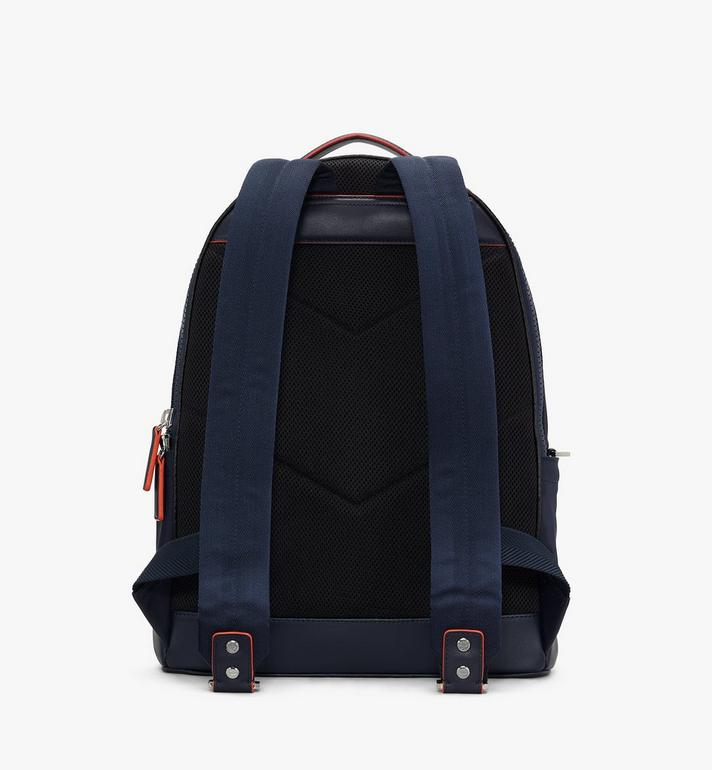 MCM Stark Backpack in Monogram Nylon Navy MMKASVE24VA001 Alternate View 3
