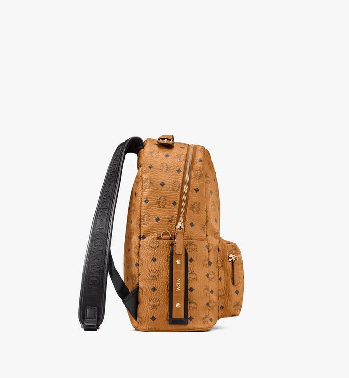 MCM Stark Backpack in Visetos Cognac MMKASVE26CO001 Alternate View 2