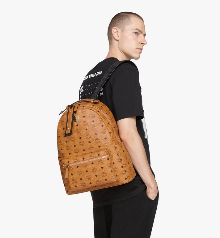 MCM Stark Backpack in Visetos Cognac MMKASVE26CO001 Alternate View 6