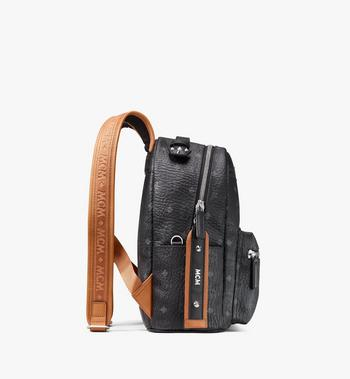MCM Stark Backpack in Visetos Black MMKASVE27BK001 Alternate View 2