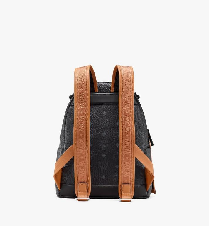 MCM Stark Backpack in Visetos Black MMKASVE27BK001 Alternate View 3