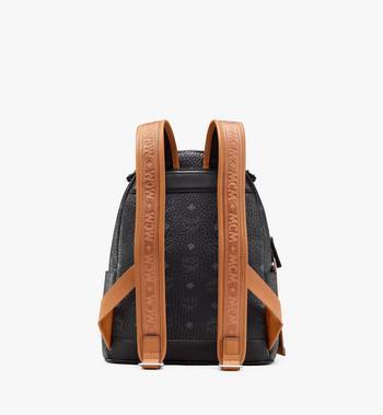 MCM Stark Backpack in Visetos Black MMKASVE27BK001 Alternate View 3