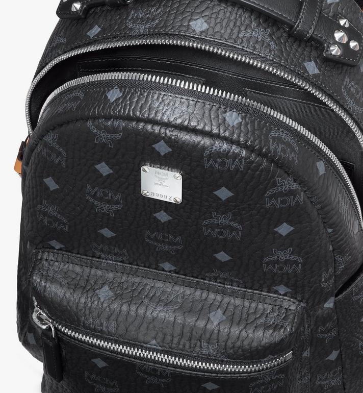 MCM Stark Backpack in Visetos Black MMKASVE27BK001 Alternate View 4