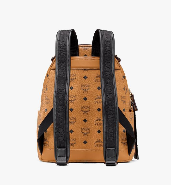MCM Stark Backpack in Visetos Cognac MMKASVE27CO001 Alternate View 3