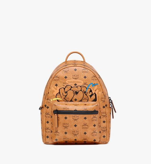 MCM x SAMBYPEN Stark Backpack in Visetos