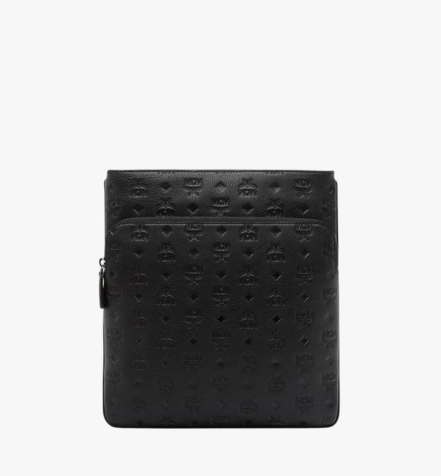 Ottomar Flat Messenger in Monogram Leather
