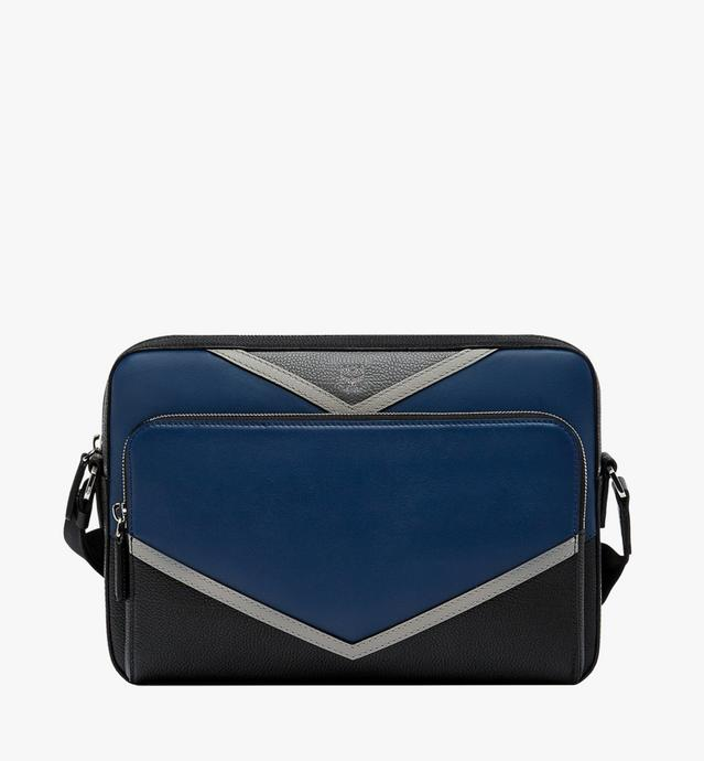 Ottomar Messenger in Chevron Leather