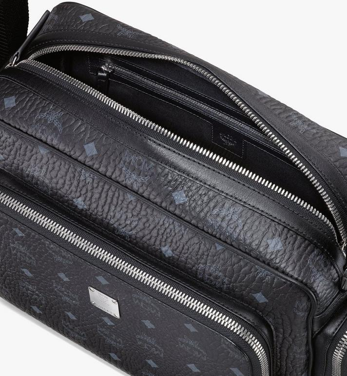MCM Visetos 皮革 Klassik 公文包 Black MMMASKC01BK001 Alternate View 4