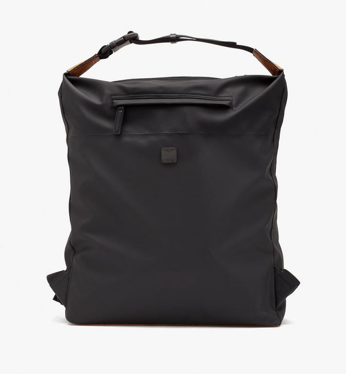 MCM 1976 Convertible Backpack in Nylon Black MMPASMV01BK001 Alternate View 4