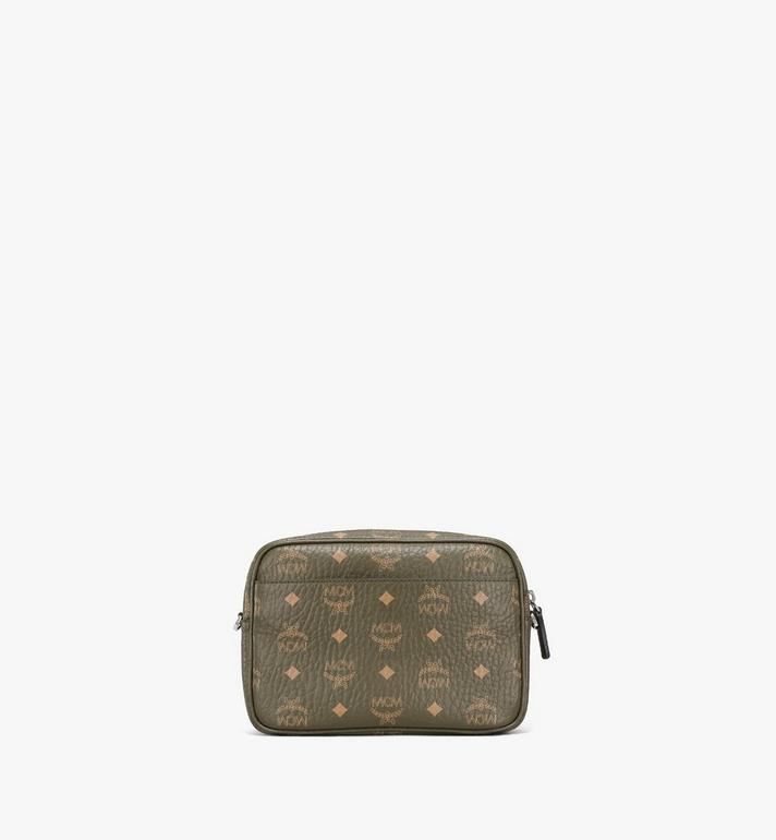 MCM Klassik Crossbody in Visetos Green MMRAAKC02JH001 Alternate View 4