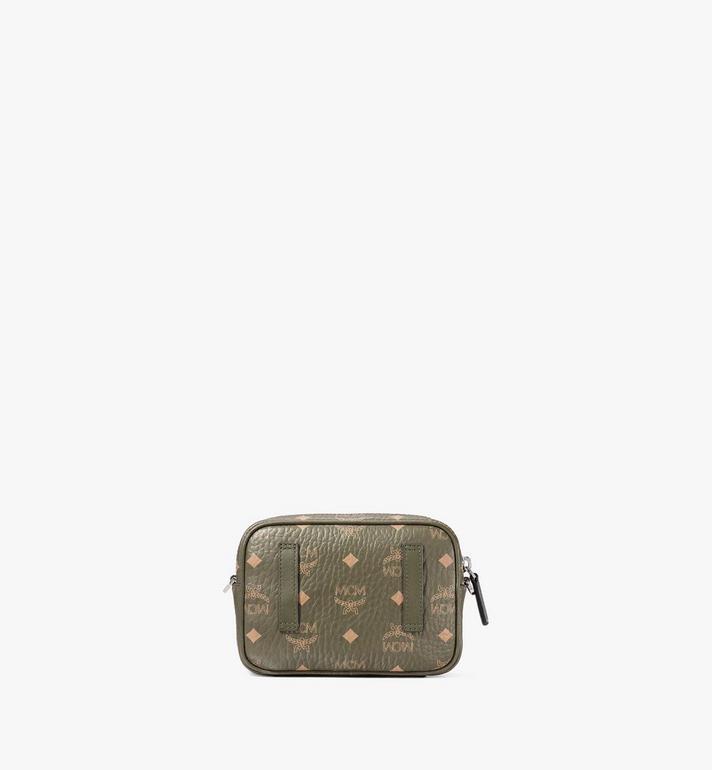 MCM Klassik Crossbody in Visetos Green MMRAAKC03JH001 Alternate View 4